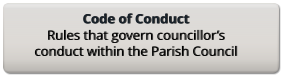 Code of Conduct Rules that govern councillor's conduct within the Parish Council