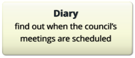 Diary find out when the council's meetings are scheduled